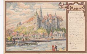 Gruss aus MEISSEN (Saxony), Germany, PU-1902