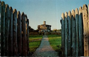 Maine Fort Edgecomb Through The Gate