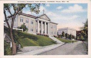 Wisconsin Chippewa Falls McDonell Memorial High School
