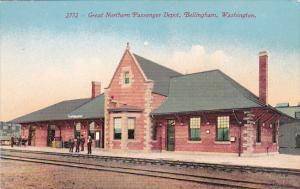 Washington Bellingham Great Northern Railroad Passenger Depot
