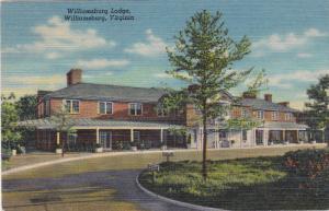 Williamsburg Lodge, WILLIAMSBURG, Virginia, PU-1951