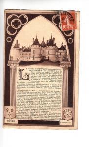 BF12069 chateau de chaumont monument historique france front/back image
