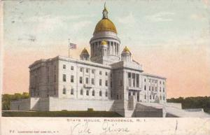 Rhode Island Providence State House 1907