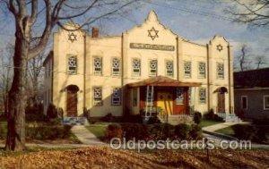 Monticello, NY USA Synagogue,  Where I went to Nursery School Judaic, Judai...