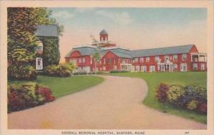 Maine Sanfrod Goodall Memorial Hospital