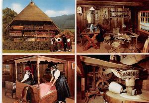 Schwarzwaelder Freilichtmuseum Vogtsbauernhof im Gutachtal Schwarzwald Bauernhof