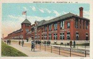 SCHENECTADY , N.Y. , 1900-10s ; American Locomotive Company