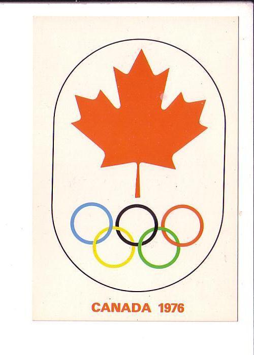 Maple Leaf with Olympics Symbol 1976  Canada