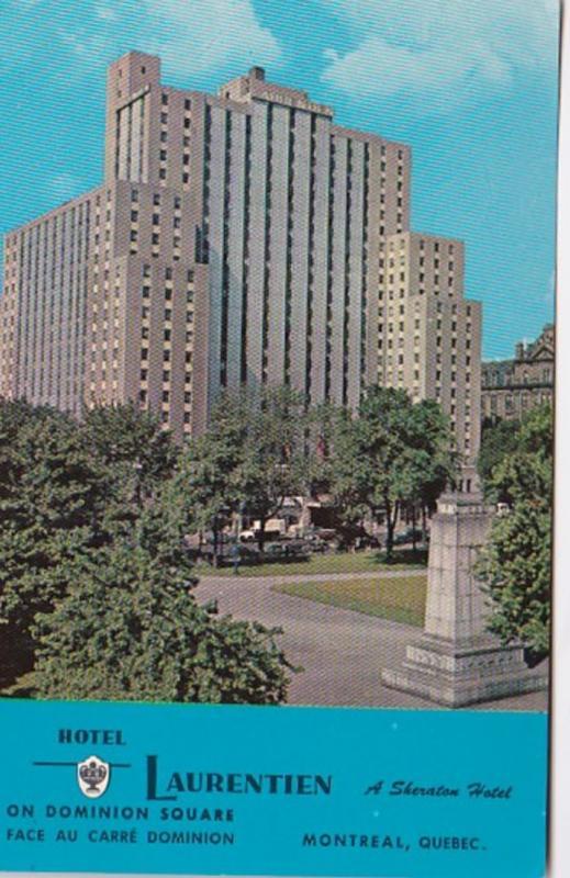 Canada Montreal Hotel Laurentien