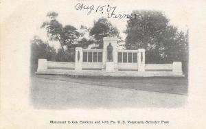 Easton Pennsylvania~Northhampton County Court House~View From Corner~1905 B&W PC