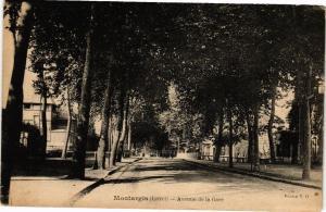 CPA MONTARGIS - Avenue de la Gare (251640)