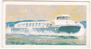 Trade Cards Brooke Bond Tea Transport Through The Ages No 47 Hovercraft