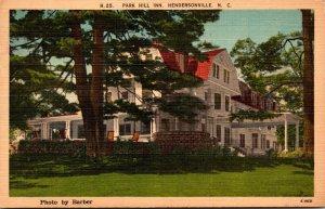 North Carolina Hendersonville Park Hill Inn
