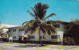 Florida Fort Lauderdale Bimini Apartments 1956