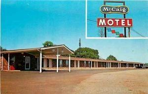 AL, Talladega, Alabama, McCaig Motel, Dexter Press 19715-C