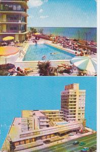 2-views, Swimming Pool, Lake Tower Inn,  Lake Shore Drive at Ohio Street,  Ch...