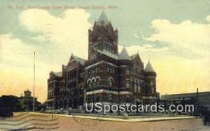 Kent County Court House Grand Rapids MI 1912