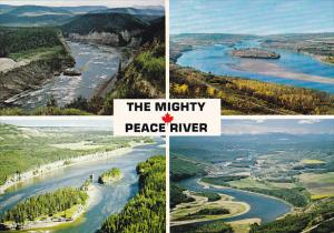 Canada Multi View Peace River Alberta
