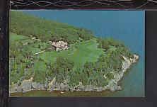 Bird's Eye View,Beinn Bhreagh,Cape Benton,NS Postcard BIN