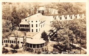 Spring Park Minnesota Hotel Del Otero Real Photo Antique Postcard K95722
