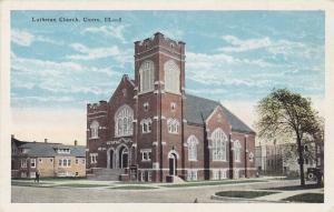 CICERO, Illinois, 1900-1910's; Lutheran Church