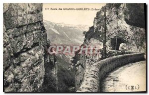 Old Postcard Route Great Narrow Drome