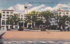 BILOXI, Mississippi, PU-1956; The Beautiful Buena Vista Hote