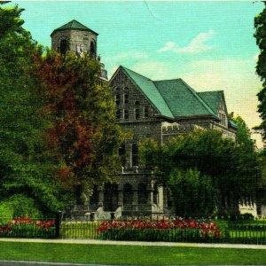 Vtg Linen Postcard Greenville Mississippi MS Washington County Court House