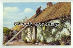 su2164 - The Thatcher at work - postcard