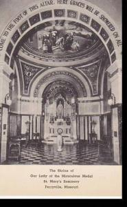 Missouri Columbia The Shrine Of Mirculous edal ST. Marys Seminary Perryville ...