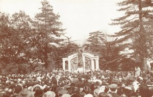 Titanic Postcard, unveiling of Engineers Memorial East Park Southampton 1914 BZ6