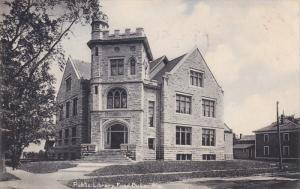 FOND DU LAC, Wisconsin, PU-1907; Public Library