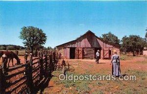 James Polk Johnson, National Historic Site Johnson City, TX, USA Unused