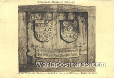 Treubund Denkmal Austria 1919