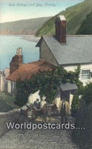 United Kingdom, UK, England, Great Britain Rose Cottage & Bay Clovelly Clovel...
