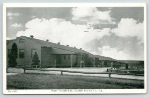 Camp Pickett Virginia~WWII Receiving Office~Post Hospital~Planes Overhead~1940s