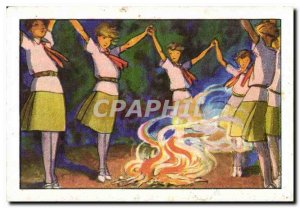 Image Chocolate Suchard Scout Scout Jamboree Dance Fire