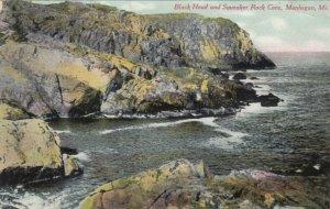 MONHEGAN , Maine, 1910 ; Black Head & Squeaker Rock Cove