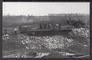 Men Working,Rochester,NY  NYS Erie Canal in 1909 BIN