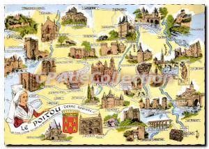 Postcard Modern Poitou