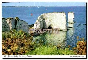 Postcard Modern Old Harry Rocks Swanage Dorset