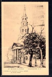 St Michael's Church,Charleston,SC BIN