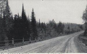 COPPER HARBOR, Michigan, 1930-50s; Road Scene in Vacation Land