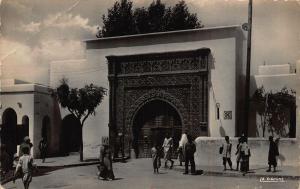 Morocco Casablanca Porte Gate Street Postcard