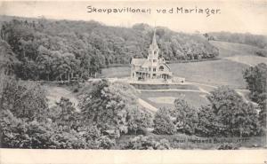SKOVPAVILLONEN VED MARIAGER DENMARK DANEMARK POSTCARD c1907