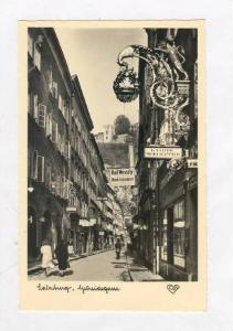 RP, Showing Different Business, Getreidegasse, Salzburg, Austria, 1920-1940s