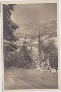 RP: Haupthaus in Winter, Kuranstalt Glotterbad, Schwardwald, Baden-Wurttember...