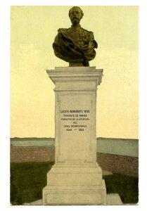 Panama - Panama City. Bust of Lucien Bonaparte Wise