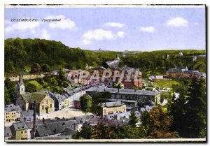 Old Postcard Luxembourg Pfaffenthal