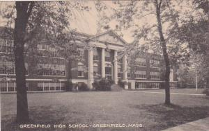 Massachusetts Greenfield Greenfield High School